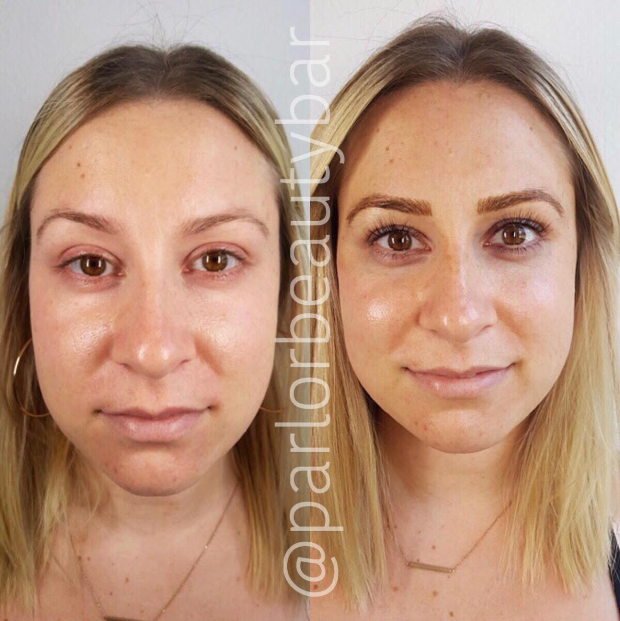 Microblading Eyebrows - Austin, TX | Parlor Beauty Bar